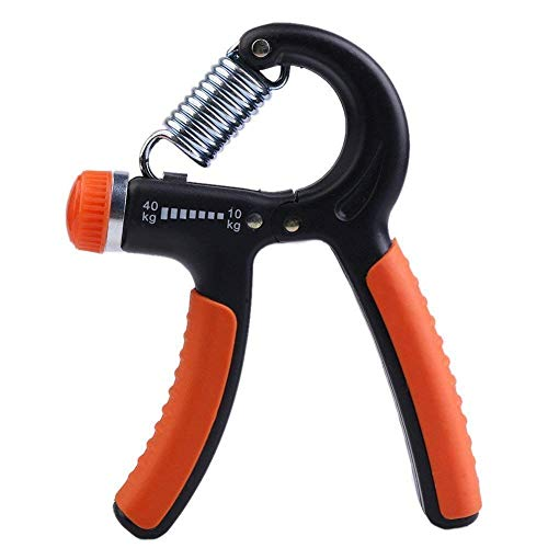 FitAddict Adjustable Resistance Hand Exerciser Grip Strengthener
