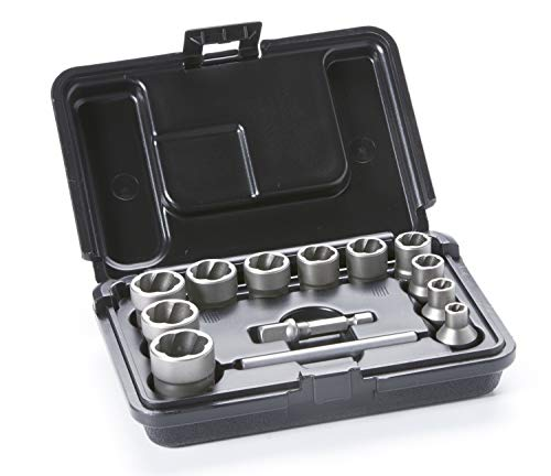 - ROCKETSOCKET Impact Bolt & Nut Extractor Set | Remove Damaged Bolts, Nuts & Screws | 13 Piece Set - Proudly Made in America