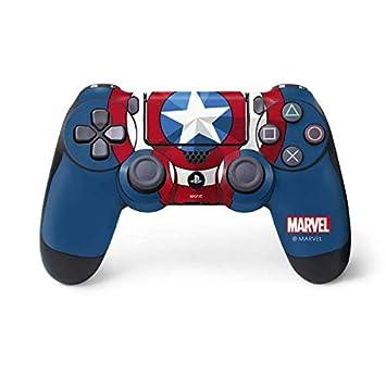 Amazon.com: Capitán América Escudo Piel para PlayStation 4 ...