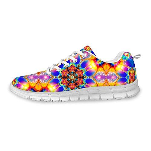 Pour U Conceptions Élégantes Femmes Mode Sneaker Casual Confortable Athlétique Marche Chaussures De Course Multi 2