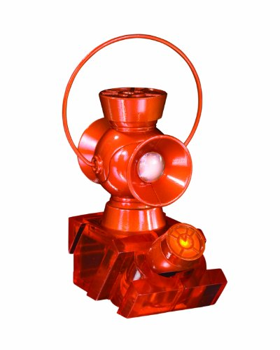 DC Direct Blackest Night: Orange Lantern 1:4 Scale Power Battery and Ring Prop Replica Set