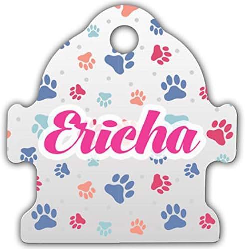 Makoroni - Ericha Unique Anodized Aluminum Pet ID Tags for Dogs & Cats