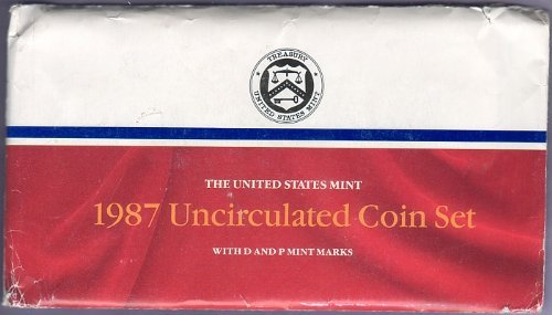 1987 P & D Mint Set in Original U.S. Government Packaging - Denver In Stores Co