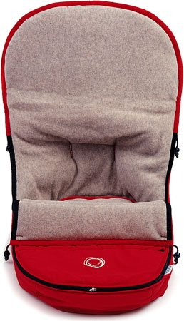 Bugaboo Frog Footmuff Color: Red 300101rd01