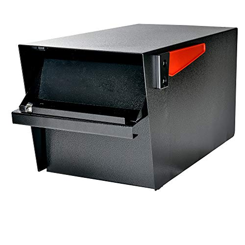 Mail Boss 7526 Mail Manager Street Safe Locking Security Mailbox, Black by Mail Boss (Image #5)
