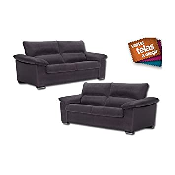 SHIITO Conjunto de sofás de Tres más Dos plazas. Tapizado en ...