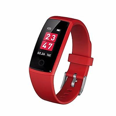 KLXEB Bracelet Bracelet Bracelet Color Smart Sports Fc Étape Motion Sphygmomanomètre Bluetooth