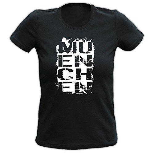 Lady Shirt München Damen Shirt Geburtstag Geschenk T-Shirt geil bedruckt Goodman Design®