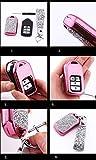 Royalfox(TM) 2 3 4 Buttons 3D Bling Smart keyless