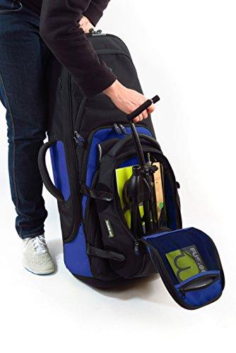 Fusion Premium Series (FB-PW-02-B) - Tenor Saxophone Gig Bag, Black/Blue by Fusion (Image #7)