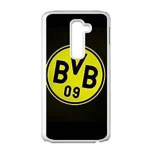 De Borussia Dortmund - Funda de fútbol Borussia Dortmund 1909 e.V, LG G2 equipo de for