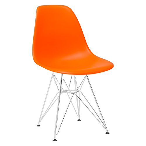 Poly and Bark Padget Side Chair in Orange