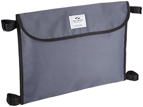Sammons Preston Walker Carryall, Attachable Portable Bag with Pocket for Wheelchairs, Rollators, and Walkers, Wheelchair Accessories for Storage, Travel Storage Tote, Rollator Pouch with Straps by Sammons Preston