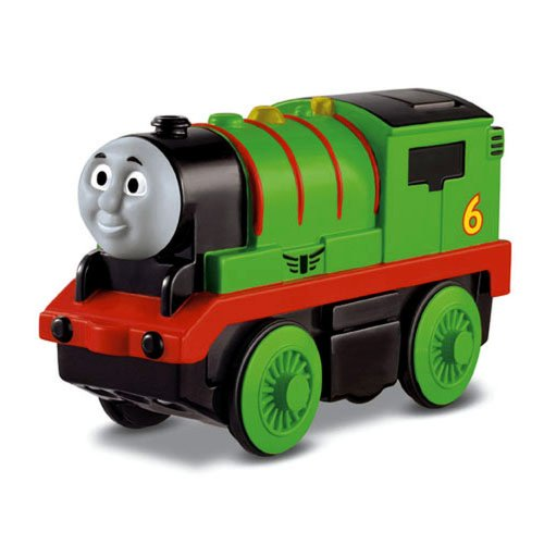 Fisher-Price Thomas & Friends Wooden Railway, Train, Percy - Battery Operated Train (Thomas And Friends Battery)