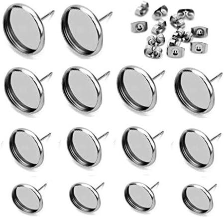 Youdiyla Stainless Backings Earring Settings product image
