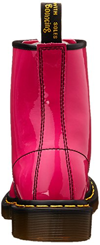 Dr. Martens 1460 Patent Stivaletti, Unisex Adulto Hot Pink Patent