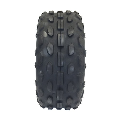 SET OF TWO: ATV Tubeless Tires 145x70-6 (14.5x7x6) P72 - Front or Rear - for HYOSUNG, KASEA, KAZUMA, LEM, LRX Small ATV w 6'' Rims by MMG (Image #2)