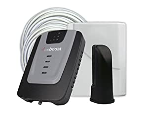 weBoost Home 4G Cell Phone Signal Booster for Home and Office – Enhance Your Signal up to 32x. Can Cover up to 1500 sq ft or Small Home. For Multiple Devices and Users.