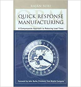 Quick Response Manufacturing Book