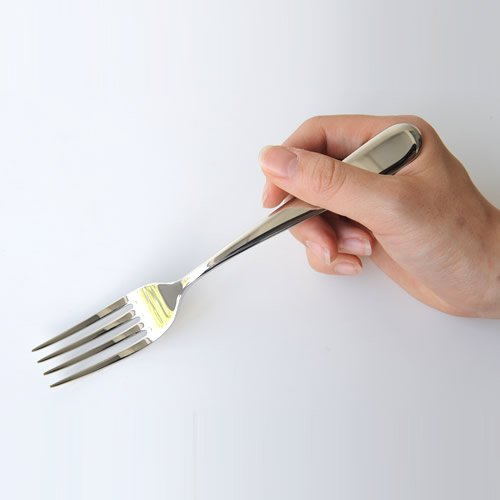 Alessi ''Nuovo Milano'' 7-3/4-Inch Table Fork, Set of 6 by Alessi (Image #2)