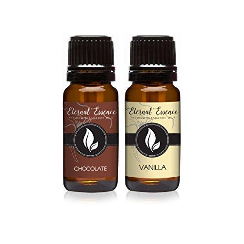 Pair (2) - Chocolate & Vanilla - Premium Fragrance Oil Pair - 10ml ()