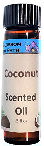 Blossom to Bath Scented Oil, Coconut (.5 ounce)