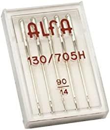 Alfa nº 90-Estuche 5 Agujas 130/705: Amazon.es: Hogar