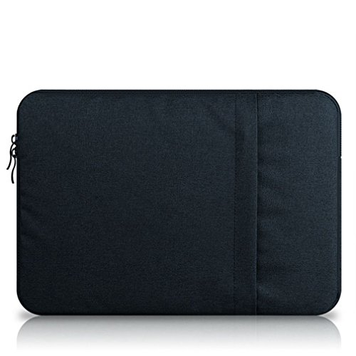 G7Explorer Water-resistant Notebook Computer Case Laptop Sleeve Case Bag For Apple MacBook Pro 15' (Navy)