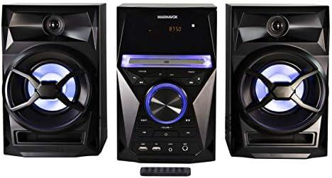 Craig Magnavox - Estantería para CD (3 Piezas, Radio Digital PLL FM estéreo, Luces de Color Azul y tecnología inalámbrica Bluetooth): Amazon.es: Electrónica