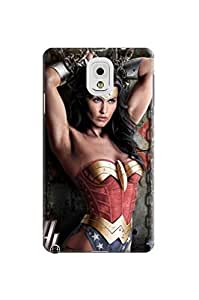 Cool pretty design tpu skin cover case with cartoon texture for Samsung Galaxy note3 of Wonder woman in Fashion E-Mall