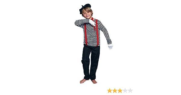 Disfraz Mimo Niño (5-6 años) (+ Tallas) Carnaval Profesiones ...