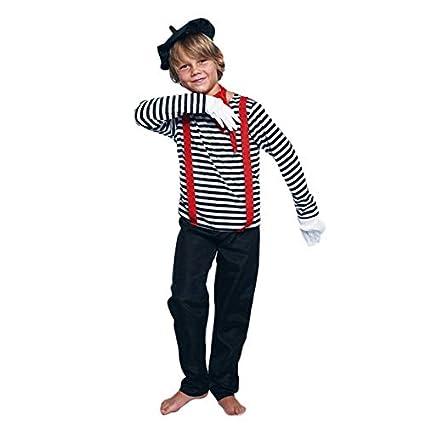 Disfraz Mimo Niño (3-4 años) (+ Tallas) Carnaval Profesiones ...
