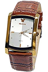 Mickey Mouse Elegant Bronze Womens Watch