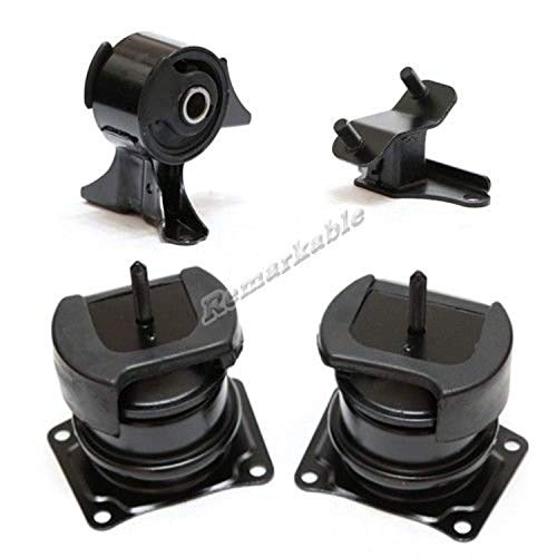 (Remarkable Power G137 Fit For 1998-2002 Honda Accord 3.0L 99 Acura TL V6 Trans Engine Motor Mount Set)