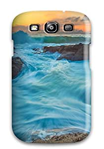 Dustin Mammenga's Shop Galaxy S3 Hybrid Tpu Case Cover Silicon Bumper Tide And Waves