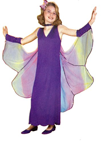 Shimmering Butterfly Childs Costume sizes