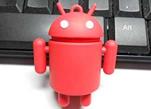 4GB Cool Android Style USB flash drive(Red)