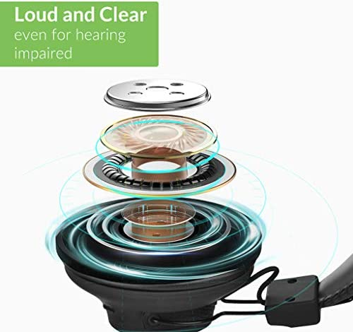[New] Avantree HT41899 Dual Bluetooth 5.0 Wireless Headphones for TV Watching with Transmitter (Digital Optical AUX RCA PC USB), 40 Hrs Playtime Wireless Hearing Headset, Plug n Play, No Audio Delay 41lcys1gb0L
