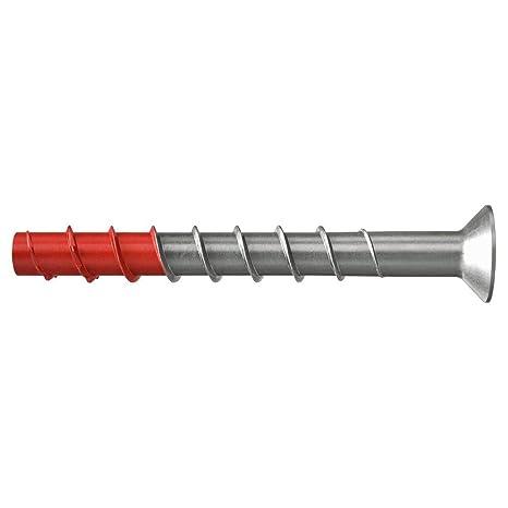Metallprofilen Regalanlagen in Beton 543585 50 St/ück fischer ULTRACUT FBS II 10x100 15//- SK A4 Betonschraube zum Befestigen von Gel/ändern im Au/ßenbereich Art.-Nr
