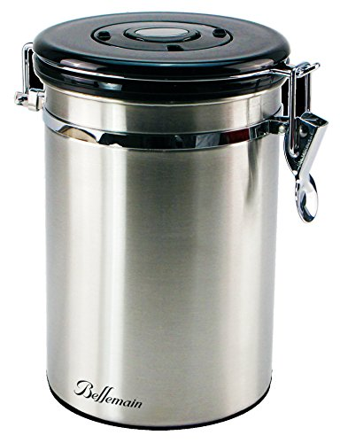 Bellemain Stainless Coffee Canister Capacity product image