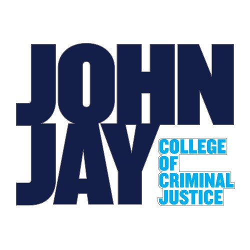 - John Jay College Medium Decal 'Official Logo'