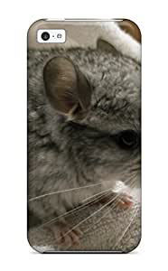 8158194K30926850 Iphone 5c Hybrid Tpu Case Cover Silicon Bumper Baby Chinchilla