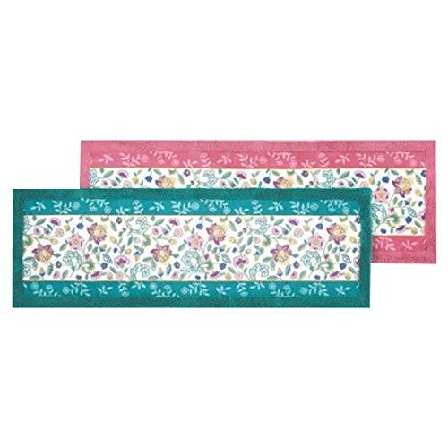 こちらの商品は【 ROローズ 】のみです。 花柄のかわいいキッチンマット。 川島織物セルコン MINTON(ミントン) リーガルハドンホールII キッチンマット 50×250cm FT1590 〈簡易梱包   B07RS9NW8Y