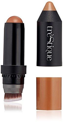 trèStiQue Color & Contour Cheek Stick, Brazilian Bronze, 0.21 oz.