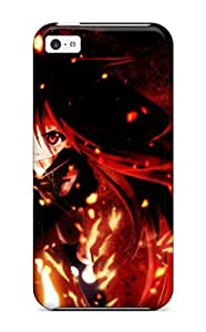Awesome Shakugan No Shana Flip Case With Fashion Design For Iphone 5c 9203081K49780606
