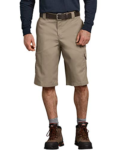 Dickies Big Men's Flex Cargo Work Shorts Khaki Size 56#495D
