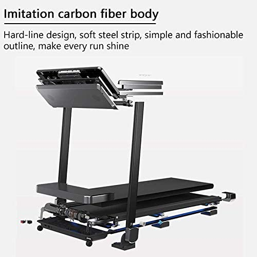 Treadmill Home Treadmill Folding Motorised Treadmill Magnetic Levitation Treadmill, Folding Indoor Multifunctional Ultra-quiet Fitness Equipment Walking Treadmill for Home And Office Cardio Training 2