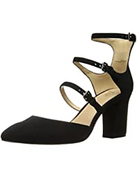 Women's Cooley Three Buckle Closed-Toe Mary Jane Dress Pump