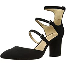 The Fix Women's Cooley Three Buckle Closed-Toe Mary Jane Dress Pump