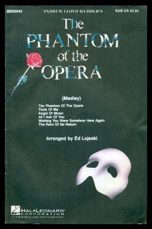 Andrew Lloyd Webber's The Phantom of the Opera, Easy Piano